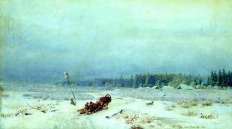 В стихах новый год белая снежная зима
