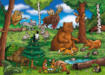 смотреть картинки зверей для детей